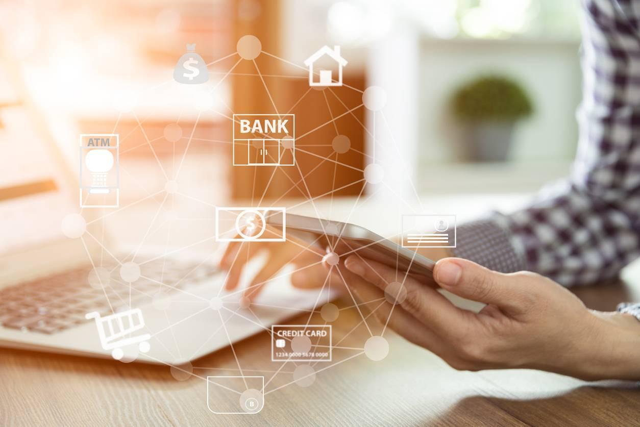 client banque en ligne
