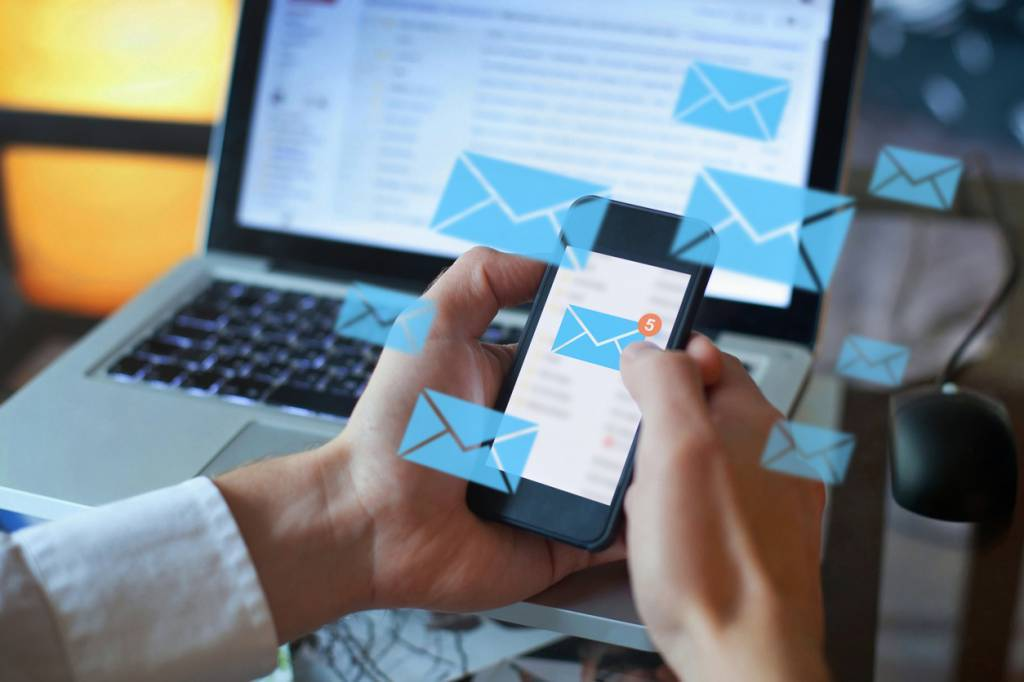 emailing business